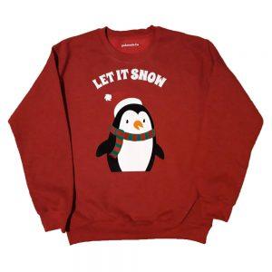 Pingvines karácsonyi pulóver