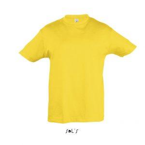 sárga gyermek póló